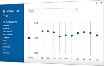 EqualizerPro - Music Equalizer For Windows OS